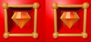 立体視画像13「ゴールドダイヤ」