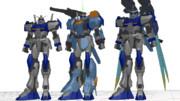【GAT-X102】デュエルガンダムVer.1.2+アサルトシュラウド【MMD配布あり】