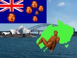 オーストラリア先輩