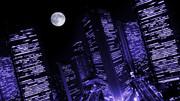 【MMDステージ配布】都市夜景 H5【スカイドーム】