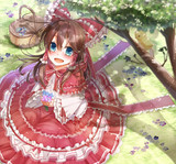 【C87】赤ずきん霊夢ちゃん【表紙】