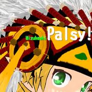 【スピッツ3rdアルバム】Palsy!【ジャケットパロ】