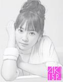 鉛筆画、似顔絵、多田愛佳!