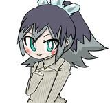 例のタートルネック着たふぶき姫。