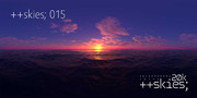 ++skies; 015 [20k10k/16k8k/8k4kスカイドーム素材配布]