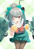 メロンちゃんにメロンパンをプレゼント