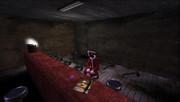 古いバー 1人ぼっちで クリスマス