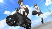 【第一回MMDダジャレ選手権】オートバイを追うとバイ(九州並