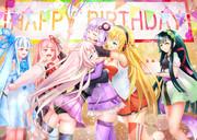 ゆかりさん誕生日おめでとう