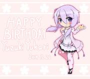 HAPPY BIRTHDAY To YuzukiYukari!!!