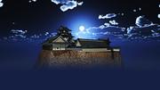 【MMDステージ配布】夜のお城 H6【スカイドーム】