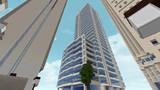 【Minecraft】高層オフィスビル