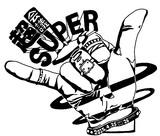 英語にすると「スーパーミーティング」のロゴ