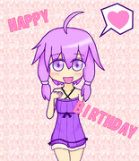 ゆかりん誕生日おめでとう!