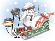 ほっぽちゃん クリスマス仕様