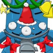 タチコマクリスマスバージョン