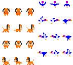 【光線銃狩人の相棒とターゲット】ダックハントの犬とカモ