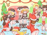 クリスマスにカッチャマが不在なのをいいことに好き勝手するRIM姉妹