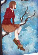 冬の赤ずきん