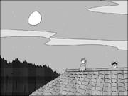 玉兎の儚きお勤めよVol.49「どうしよう・・・帰れぬ一羽」