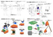 【MMD用】オリジナル艦娘宗谷、設定画2