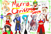 【企画絵】メリークリスマス!(ワンドロ)