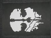 CoD:Gのロゴを描いて切ってみた