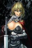 闇夜の女剣士さん