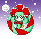 厄神様のクリスマスリース