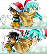 ハッピークリスマス MikuxAlan