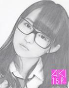 鉛筆画、似顔絵、伊藤万理華!2