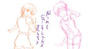 【手描き復活】跳ね馬ライダー【ラフB】