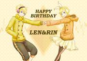 Yellow Happy Day!【鏡音誕生祭2014】