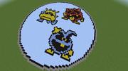 【Minecraft】ドクターマリオ ウイルス