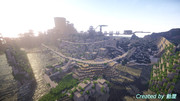 【minecraft】海と雪の遺跡【静画】