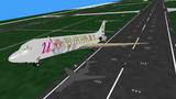 凛DC-9型機離陸