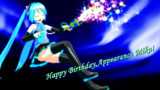 Happy Birthday,Appearance Miku!