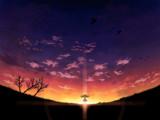 黄昏の平原
