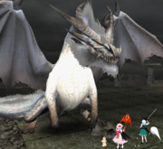 レミリア&妖夢 VS ミラルーツ