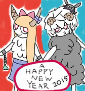 A HAPPY NEW YEAR 2015☆