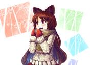 羊毛のセーターを着た狼