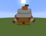 【Minecraft】鏡餅【正月】