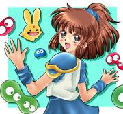 ゲームギア版 ぷよぷよ 模写