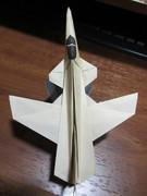 折り紙戦闘機 X-29 X-プレーン(前進翼実験機)