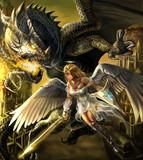 天使とドラゴン