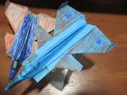 折り紙戦闘機 デストロン航空兵 ダージ トランスフォーマー