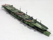 アオシマ 軽空母「千歳」ディテールアップ