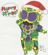 仮面ライダー龍玄(クリスマスver)