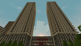 【Minecraft】超高層ツインタワーマンション