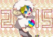 2015年 BYCMくん 羊年【BF4】